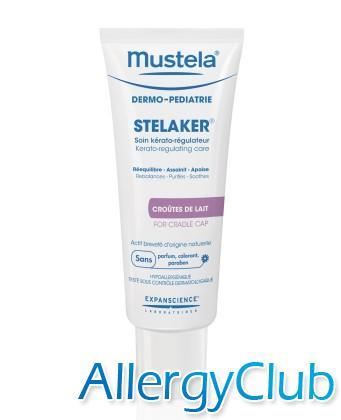Крем керато-регулирующий Mustela Stelaker